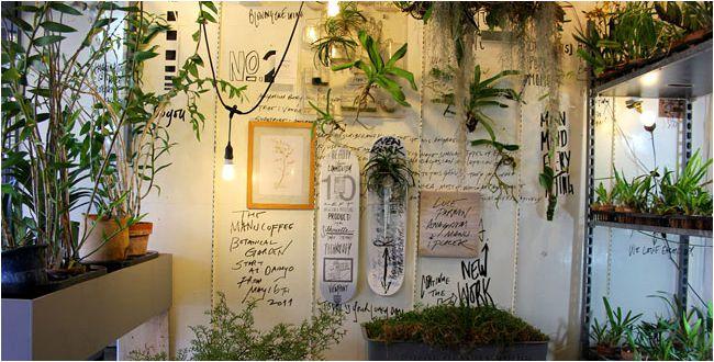 蘭とグラフィティが織りなす独特な空間