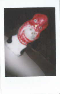 ②山形県・米沢市 相良人形 猫に蛸