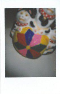 ① 滋賀県・東近江市 小幡人形 球のり猫