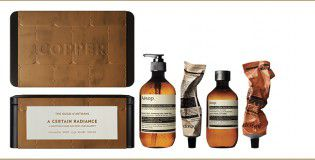AESOP GIFT KITS 2014-2015 A CERTAIN RADIANCE WITH PRODUCT (COPPER) C