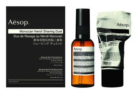 AESOP KIT MOROCCAN NEROLI SHAVING DUET WITH PRODUCT C