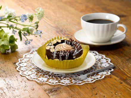 冷やして食べるドーナツ チョコクリーム&アーモンド
