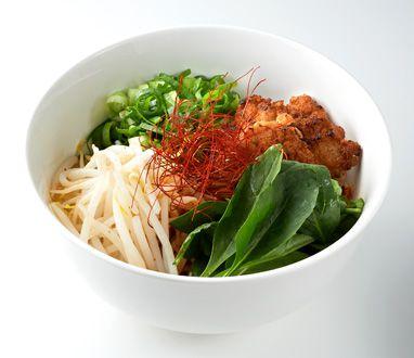 ペペロンチーノ和え麺