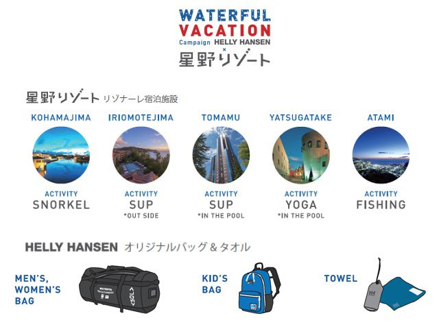 HH WATERFUL VACA TION キャンペーン02