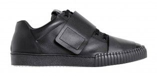LEATHER SNEAKERS_ALL BLACK