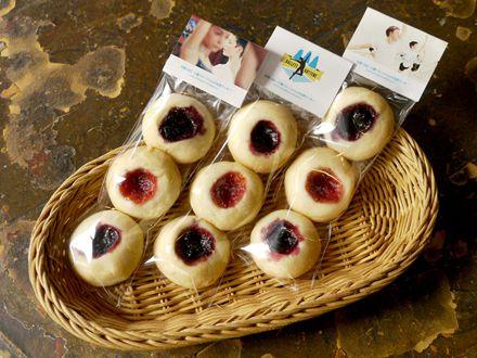 甘酸っぱい3種ベリージャムの北欧クッキー