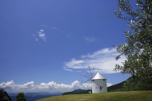 @オリーブ公園ギリシャ風車029