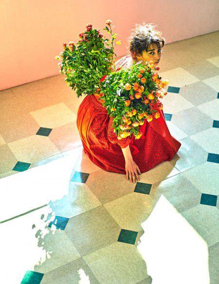 art workー装苑 花とリボン企画