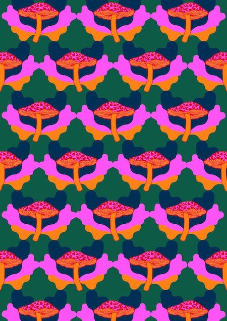 mushroom cloud-alas pattern