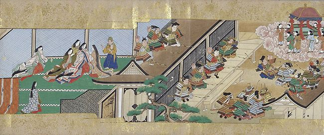 001_『竹取物語絵巻』(第三巻)