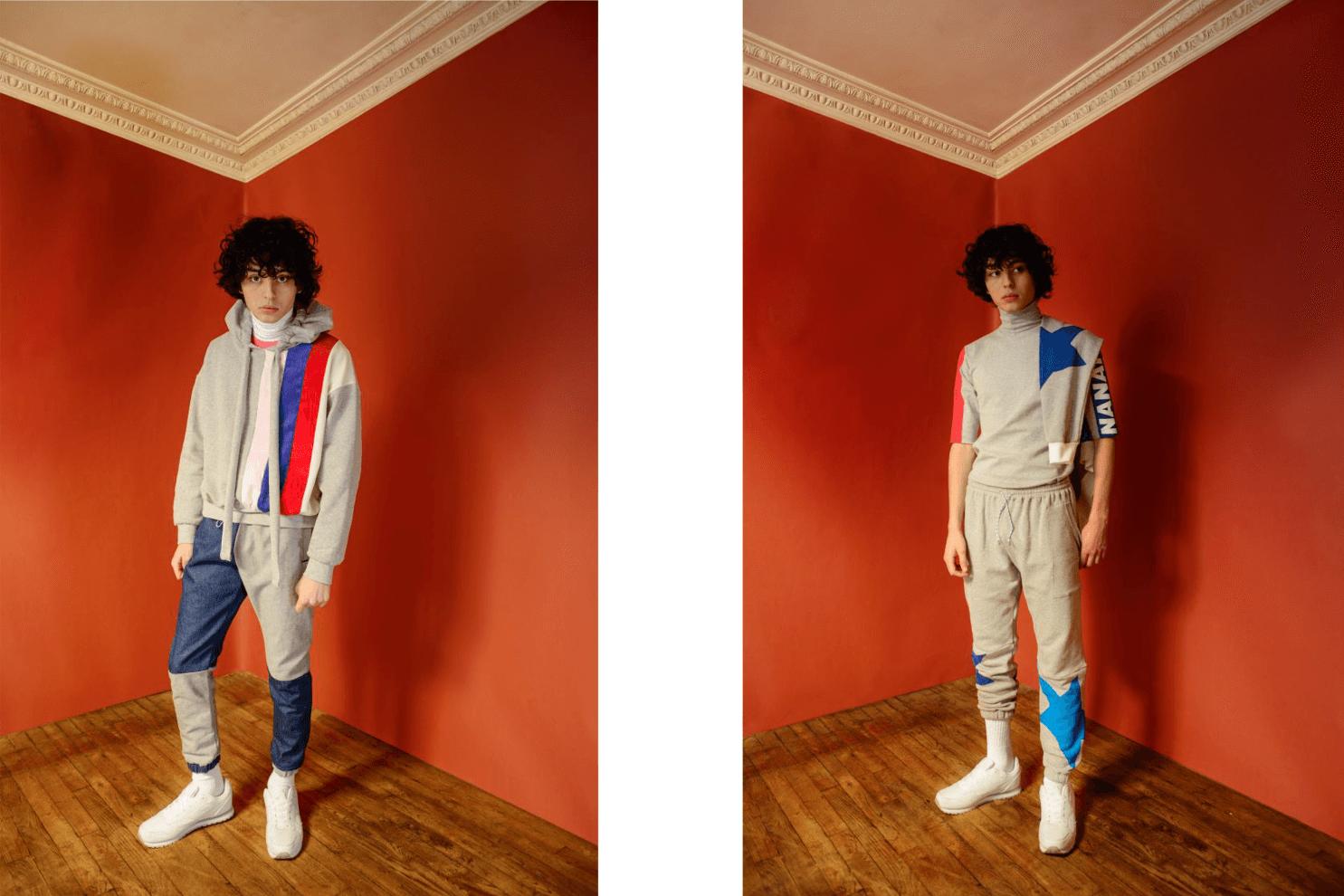 NeoL Magazine JP | Model: Louïs Rault 渡邊 | Photo: Palden Macgamwell | Fashion Designer: Noemie Sebayashi | Interview/Text: Lina Hitomi