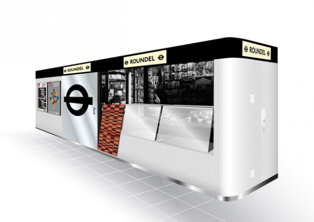 ROUNDEL POPUP STORE DESING