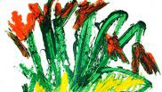 Yoshikazu Yamagata 2016 Red Flowers のコピー