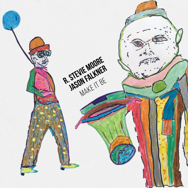 "R. STEVIE MOORE & JASON FALKNER ""MAKE IT BE"" COVER ARTWORK"