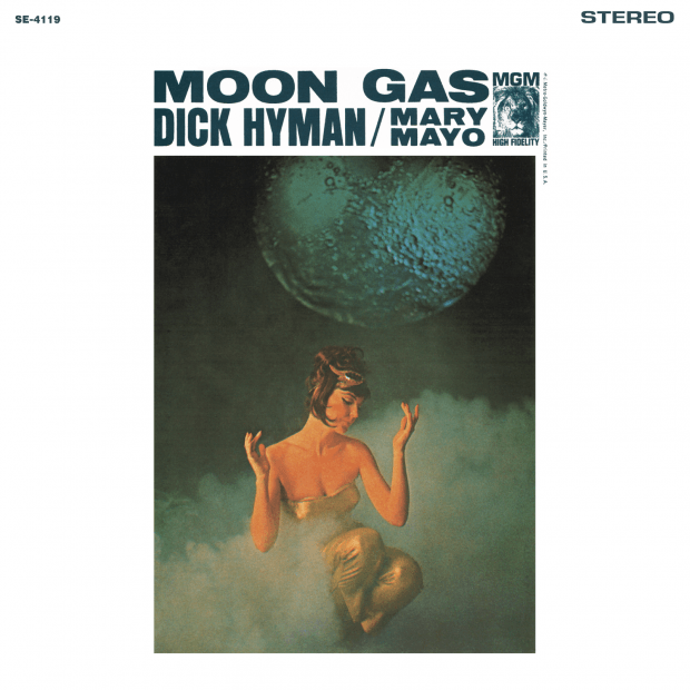 Dick Hyman + Mary Mayo - Moon Gas (Stereo Version) - Front Cover Reconstruction
