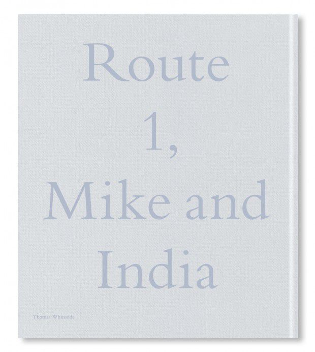 写真集裏表紙_Route1, Mike and India