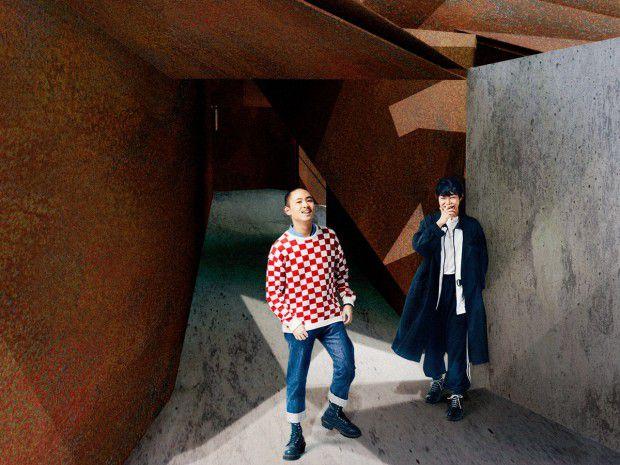 Photo : Shuya Nakano  | Styling :  Yuji Yasumoto(Kaito Yoshimura) | Hair&make-up Tomomi Fukuchi(Kaito Yoshimura)   |  Graphic design :  Kosuke Tsuda | Retouch : Shota Emoto   | Interview & art direction : Ryoko Kuwahara