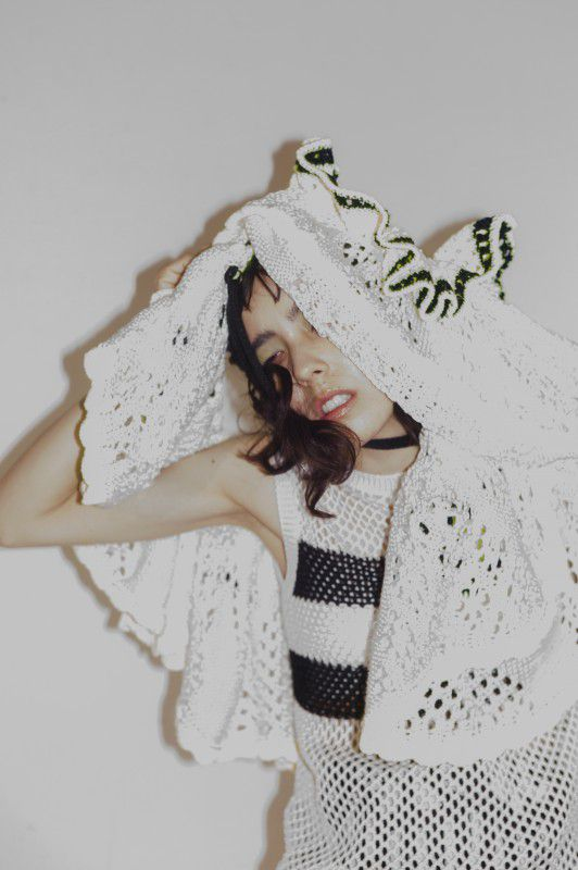 Edit: Ryoko Kuwahara | Photography: Yuichiro Noda | Styling : Masako Ogura  | Hair: Takao Hayashi  | Make-up: Yui Sakamoto | Model : Maika Loubte