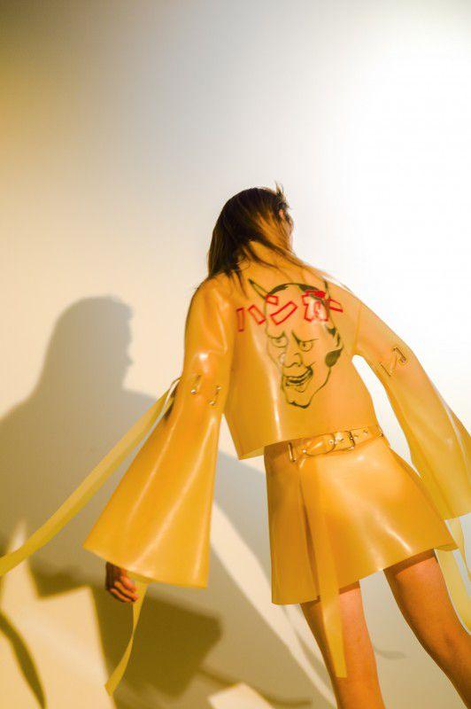NeoL JP | Photo : Yuichiro Noda | Hair :  KOTARO | Make-Up :  DAKUZAKU | Styling : Masako Ogura | Model : Sasha Yatsiuk | Edit & text : Ryoko Kuwahara