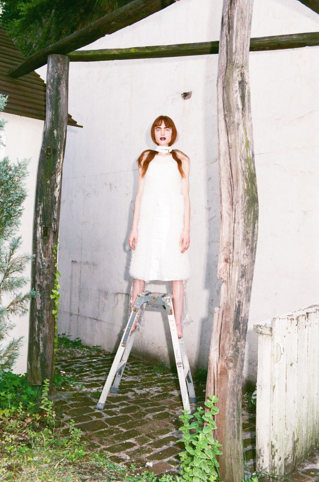 Fiction4 NeoL Photography : Satomi Yamauchi | styling Yumi Nagao | Hair : Takao | Make-up : Yousuke Toyoda | Edit : Ryoko Kuwahara