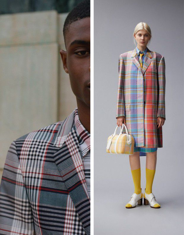 THOM BROWNE DOES MADRAS (ISETAN)