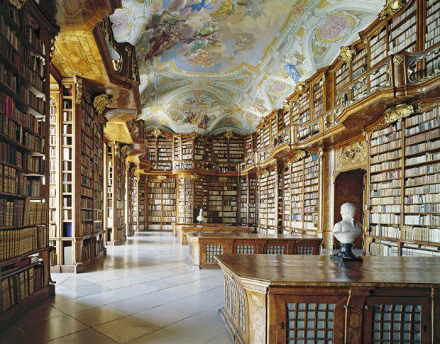 The-Most-Gorgeous-Libraries-In-The-World-Austria-Stift-St-Florian-Bibliothek-CREDIT-Constantin-Beyer