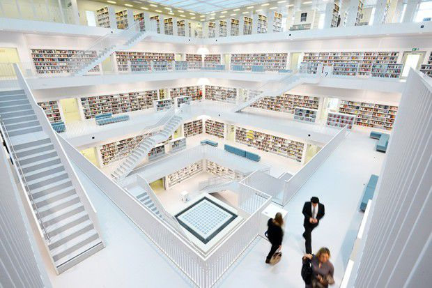 The-Most-Gorgeous-Libraries-In-The-World-City-Library-Stuttgart-Germany-CREDIT-yi-architects-Photos-Martin-Lorenz